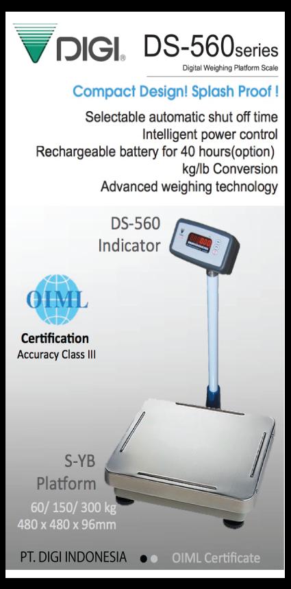 Timbangan Digital Digi DS-560 / Digi DS560